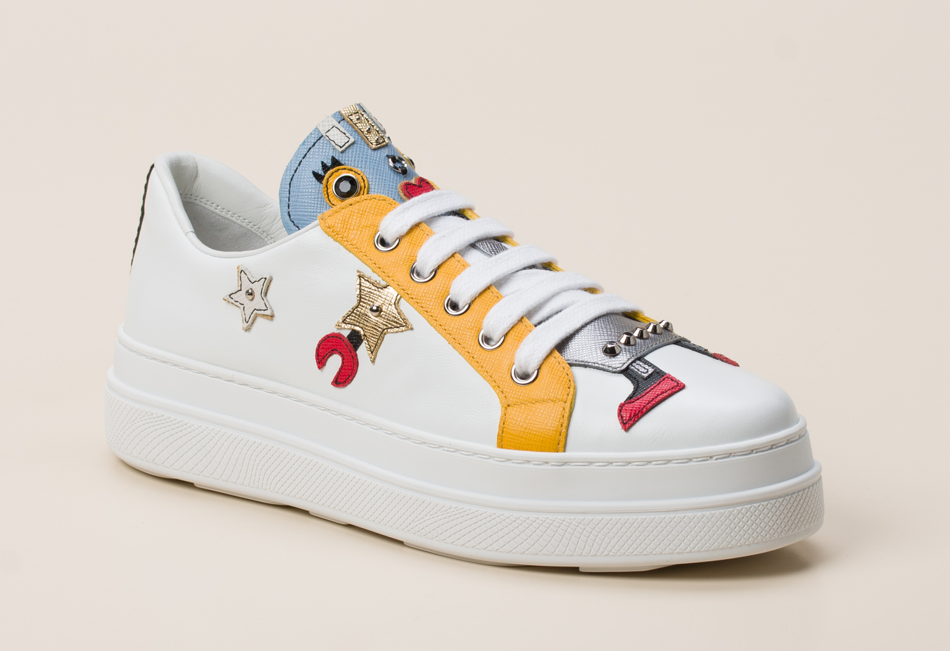 Prada Damen Sneaker in weiß kaufen | Zumnorde Online Shop