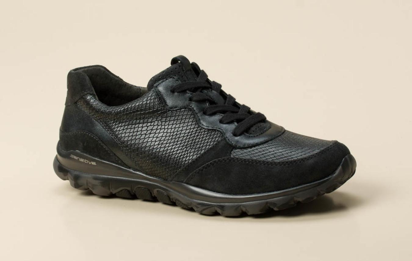 Gabor Comfort Damen Sneaker in dunkelgrau kaufen | Zumnorde Online Shop