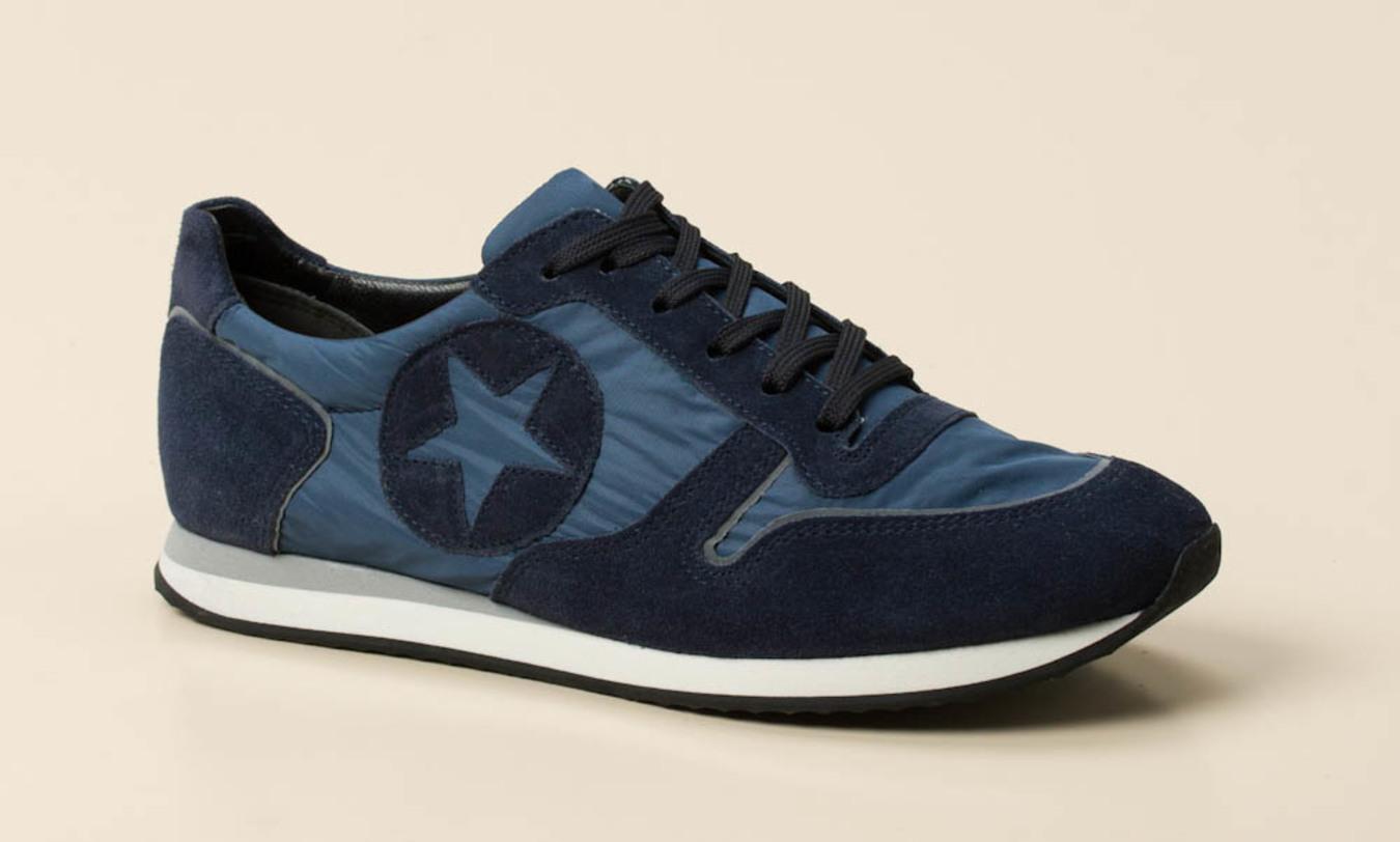 Kennel & Schmenger Halbschuhe Blau Sneaker In