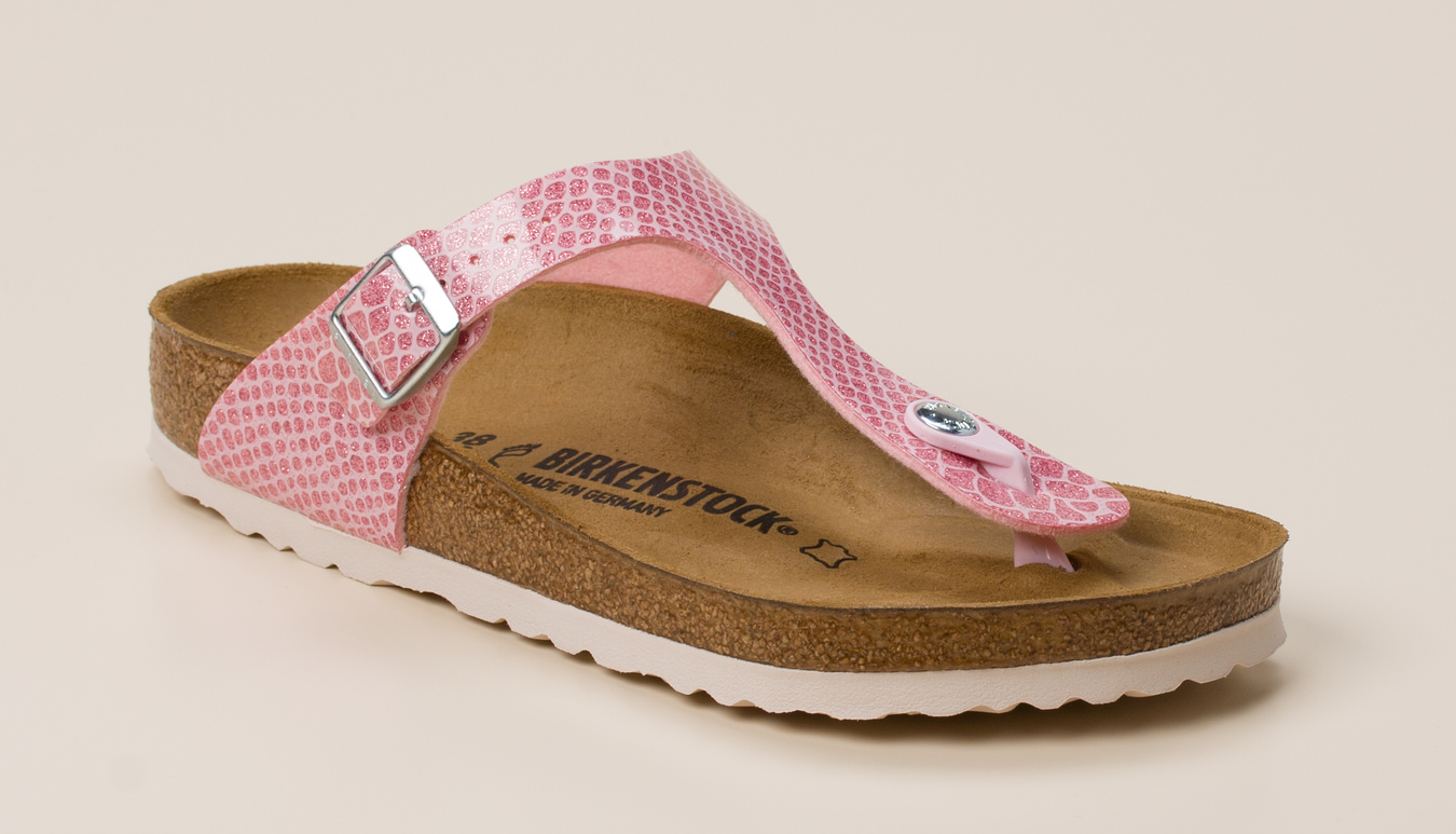 507d12c832d1fc Birkenstock Damen Zehentrenner-Pantolette Gizeh in Pink kaufen ...
