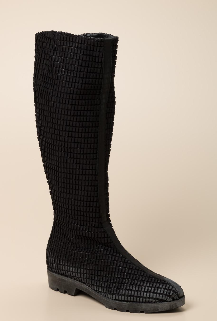 papucei stiefel schwarz