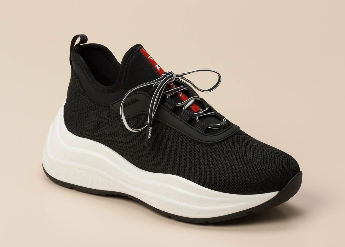 38c9084791c99 Prada Damen Sneaker in schwarz kaufen