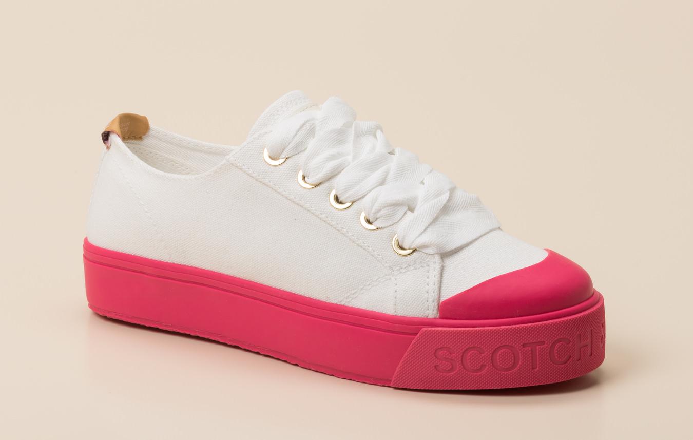 Scotch & Soda Damen Sneaker in weiß kaufen | Zumnorde Online Shop