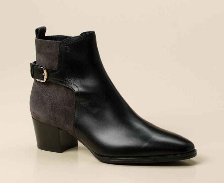 78d1c779cc3475 Tod s Damen Stiefelette in schwarz grau kaufen