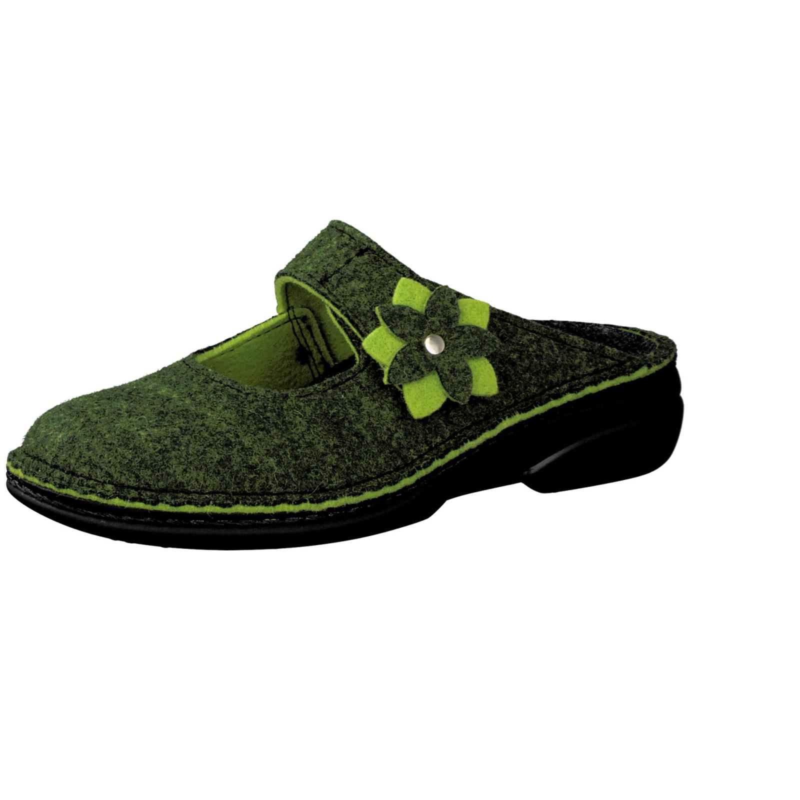 Finn Comfort Damen Hausschuh in grün kaufen   Zumnorde Online-Shop 255c0de80f