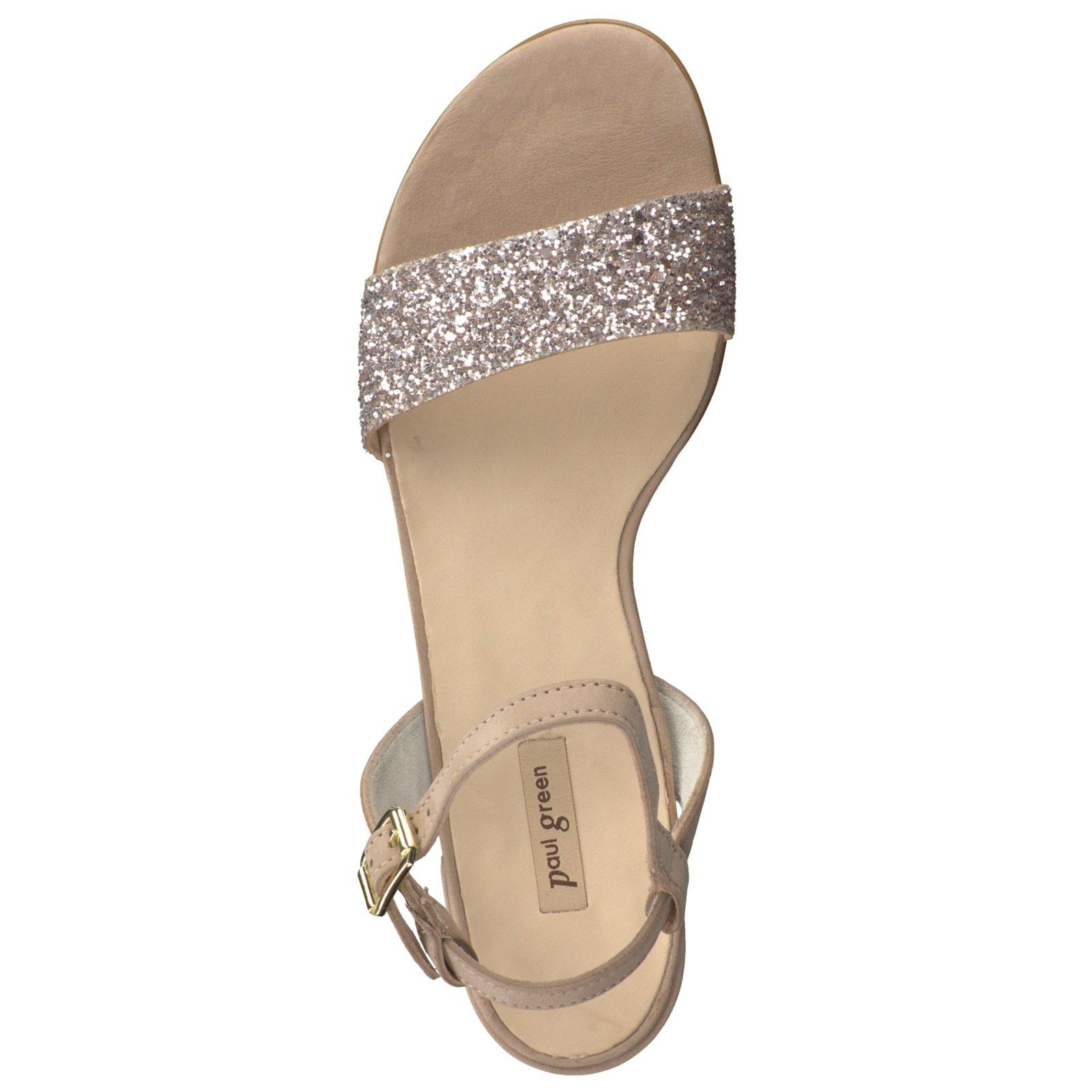 Paul Green Damen Sandalette in beige kaufen   Zumnorde Online-Shop 47e985bc20