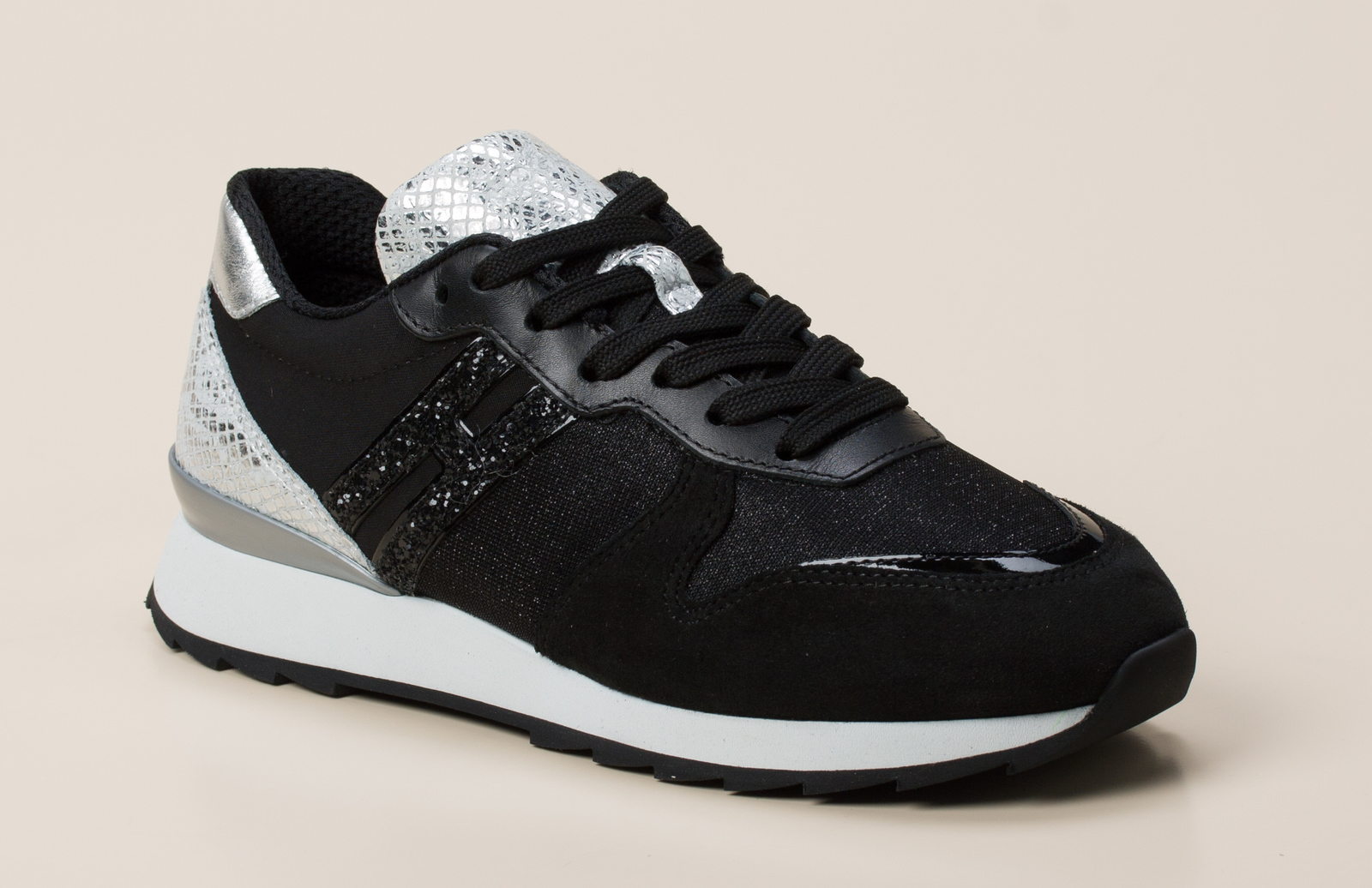 Hogan Damen Sneaker in schwarz grau kaufen   Zumnorde Online-Shop 2b6c52510c