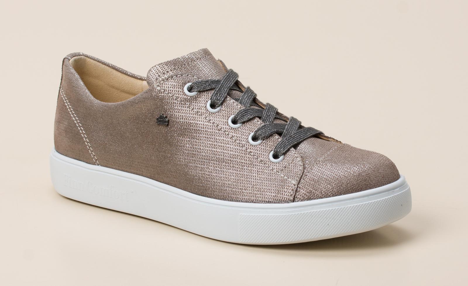 b0d4ff7cf093 Finn Comfort Damen Schnürschuh in beige-grau kaufen   Zumnorde ...