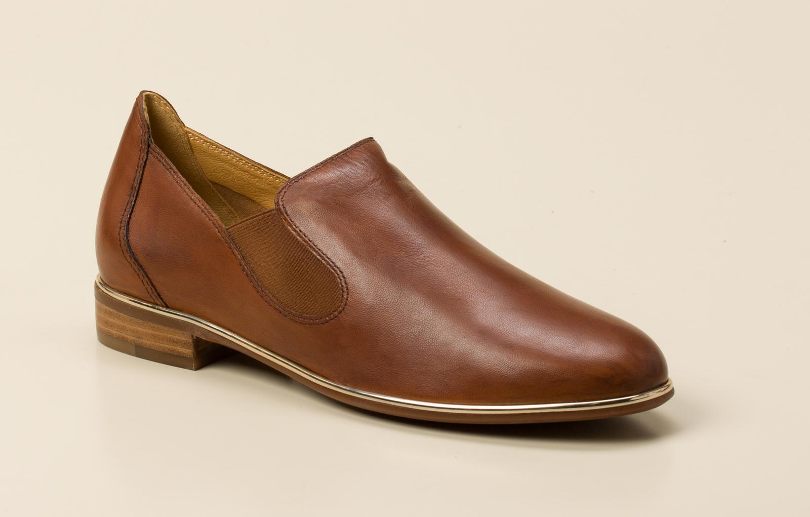 142f8659b937 Everybody Damen Slipper in cognac kaufen   Zumnorde Online-Shop