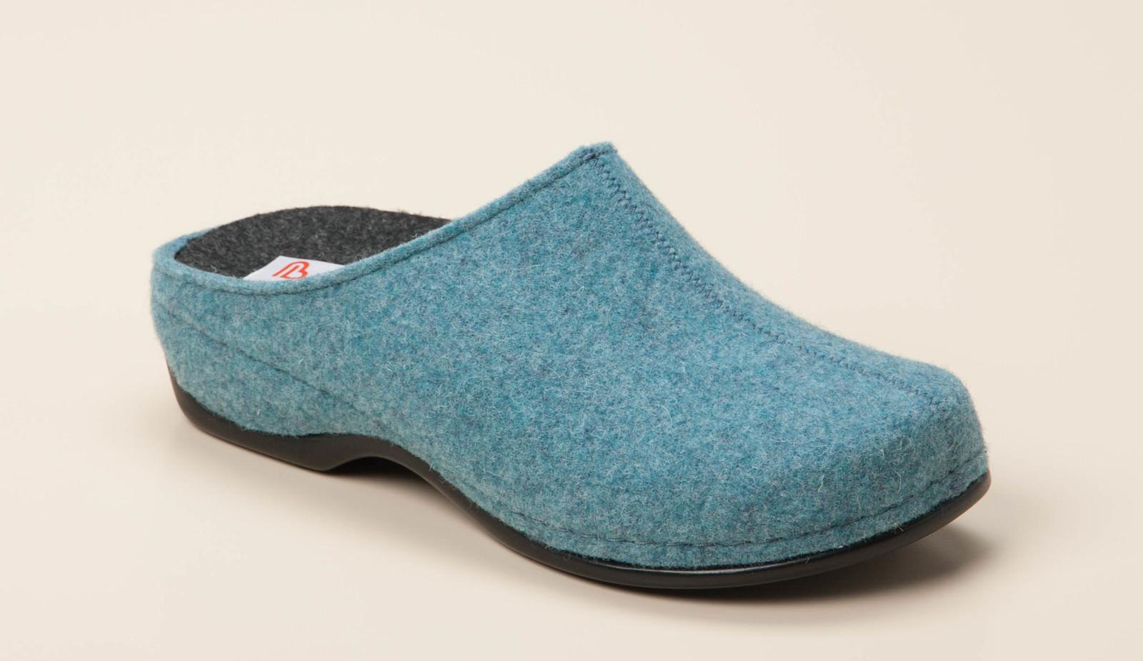 Berkemann Damen Hausschuh in hellblau kaufen   Zumnorde Online-Shop 2366d12795