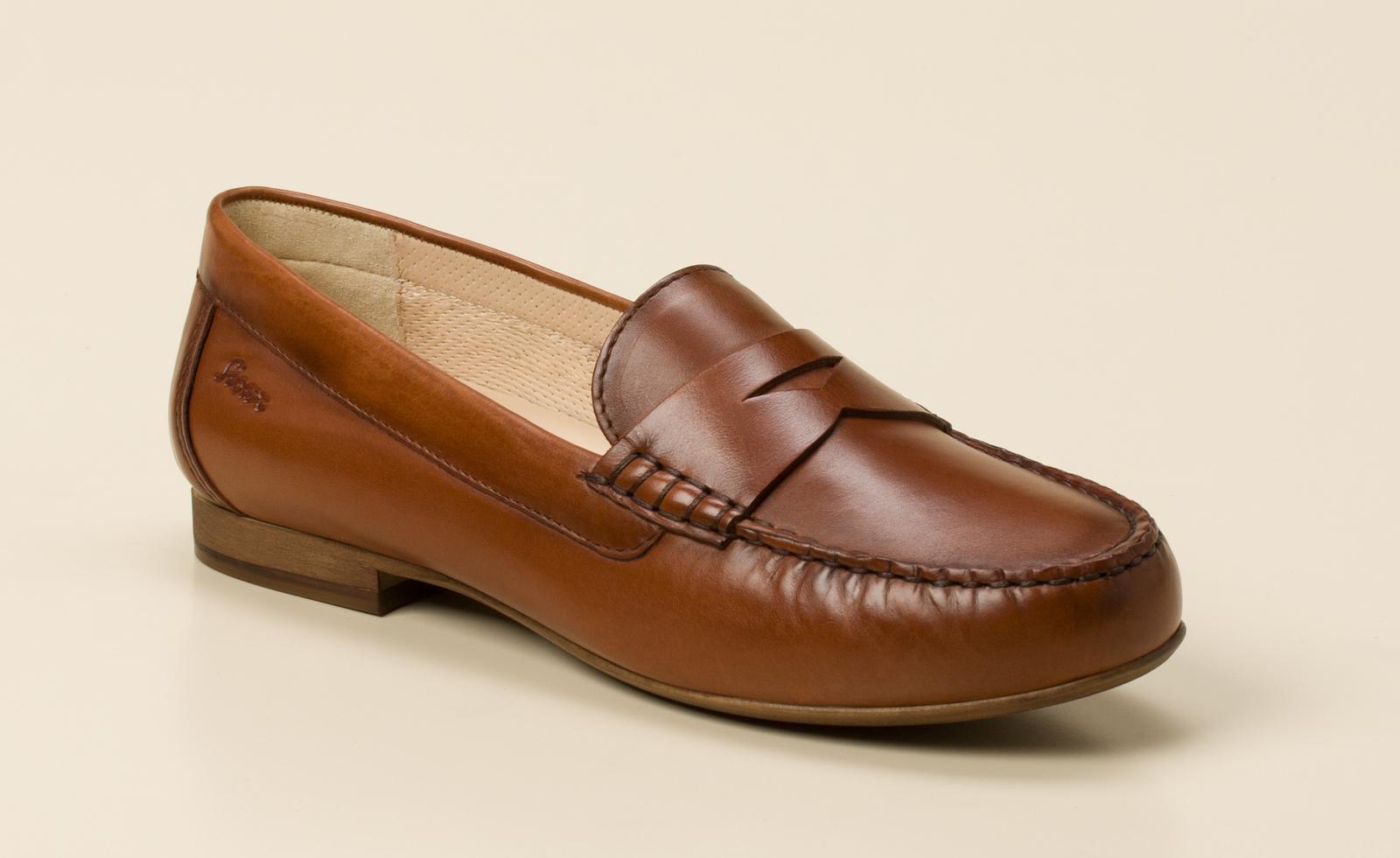 Sioux Damen Slipper in cognac kaufen   Zumnorde Online-Shop 940ef58f0c