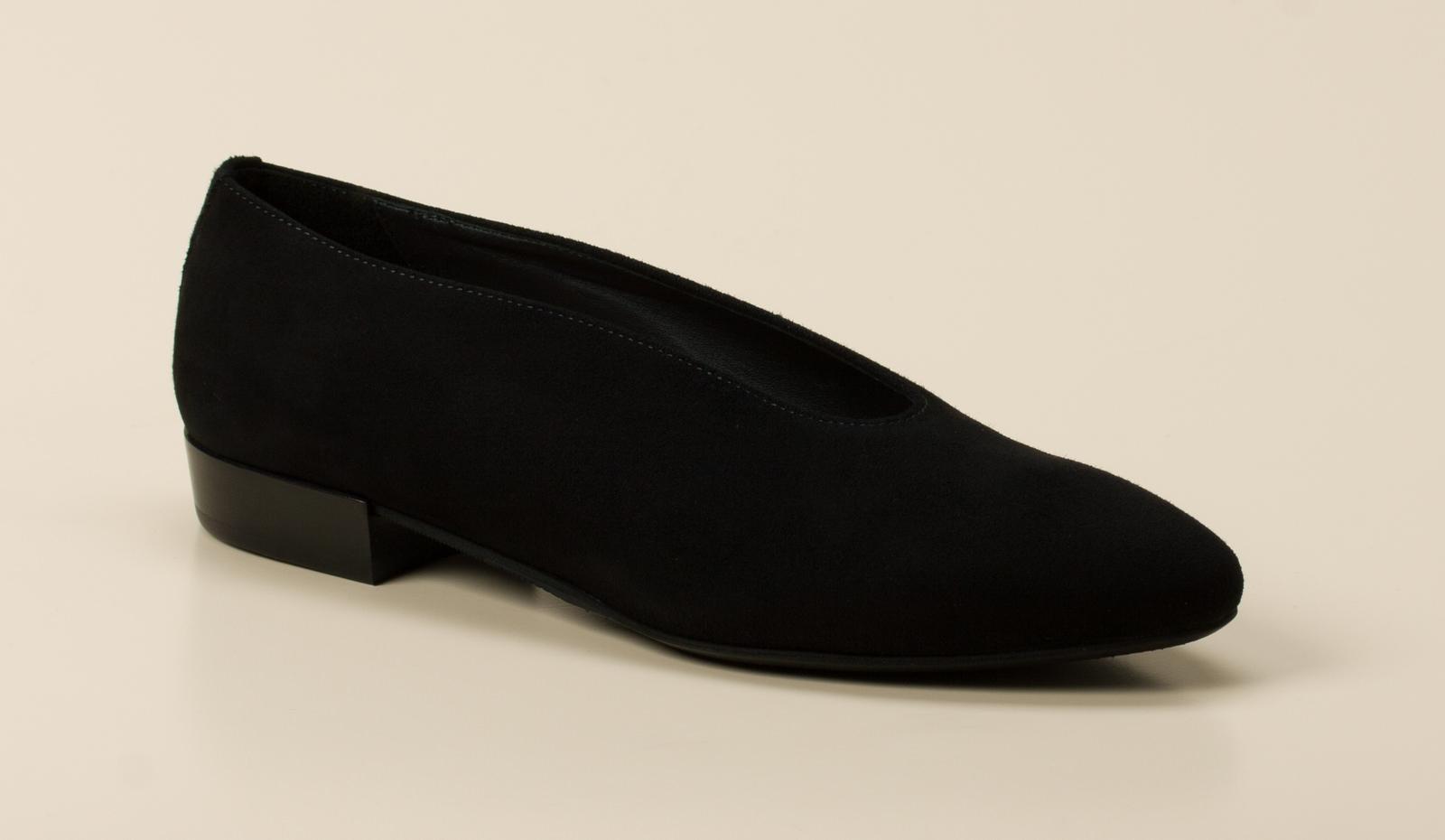 Donna Carolina Damen Ballerina in schwarz kaufen   Zumnorde Online-Shop 6d32fd9ff5