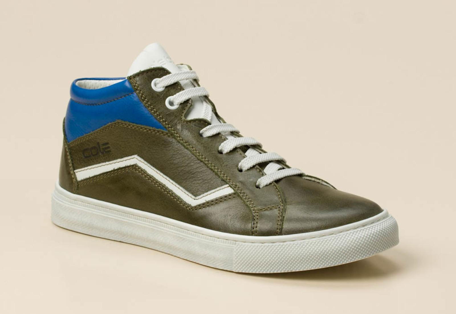 45151d159887d6 cole bounce restore Kinder Sneaker high in grün kaufen