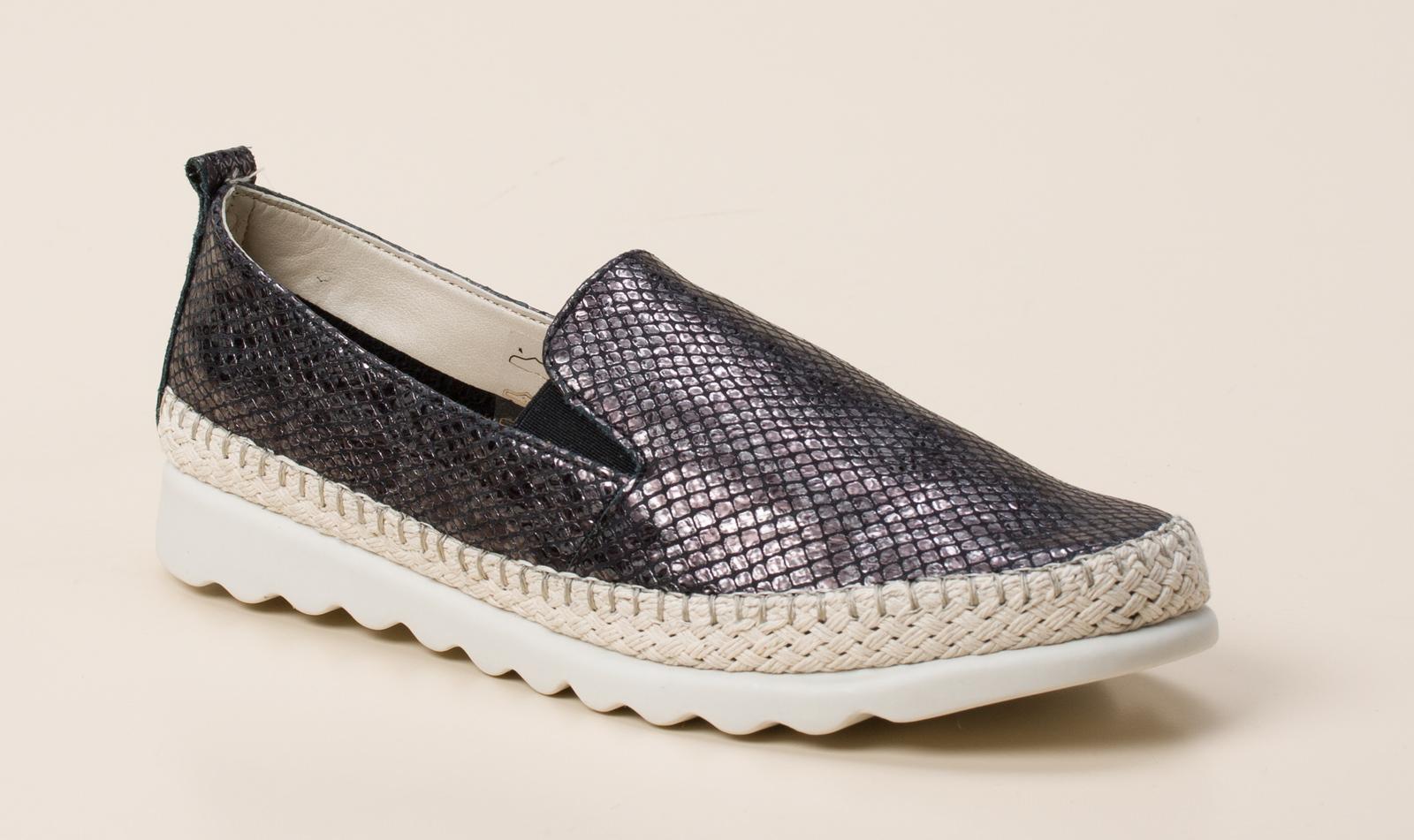 7bca83378644 The Flexx Damen Slipper in schwarz grau kaufen   Zumnorde Online-Shop