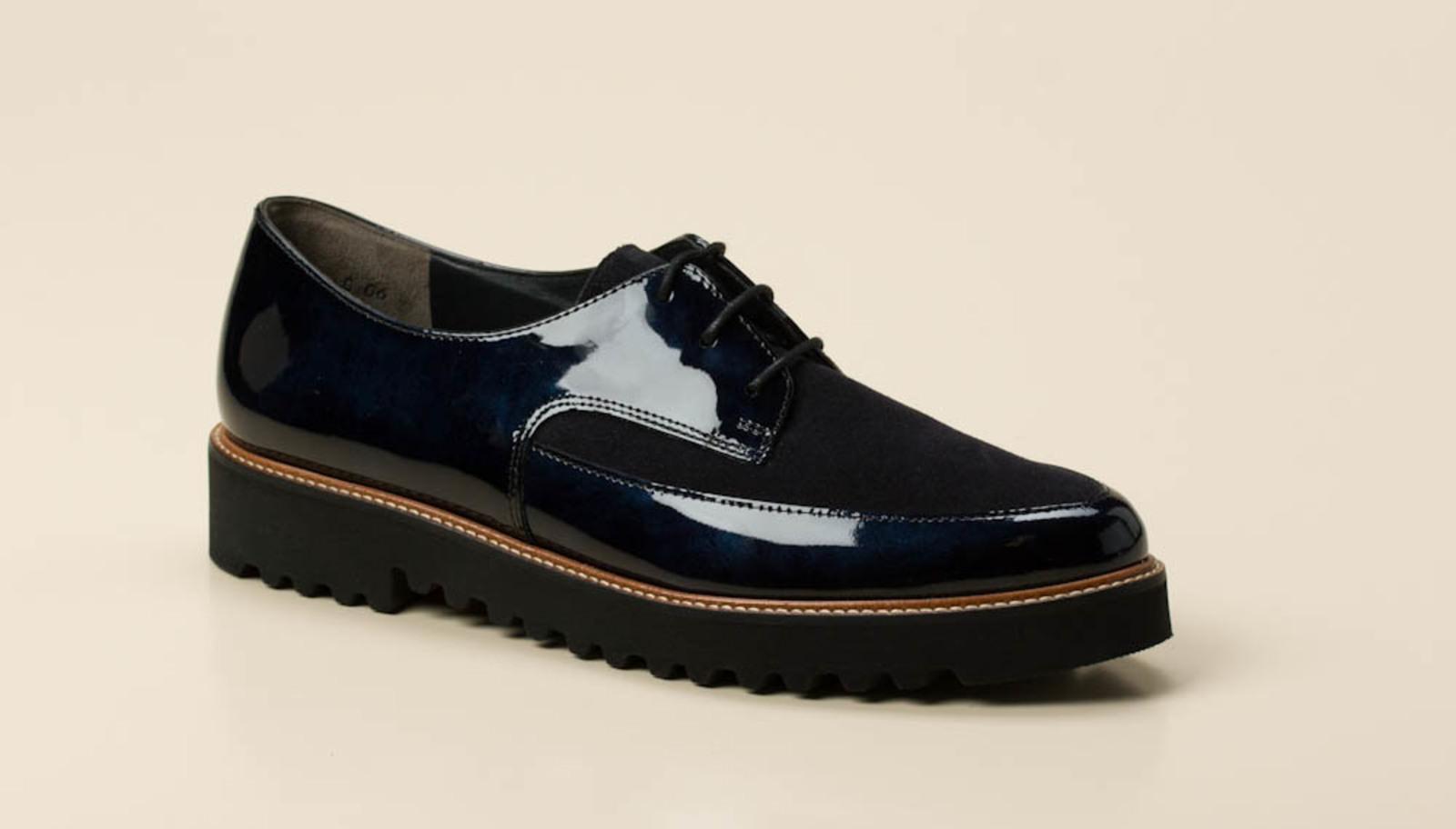 Paul Green Damen Schnürschuh in dunkelblau kaufen   Zumnorde Online-Shop 5219c16c0e