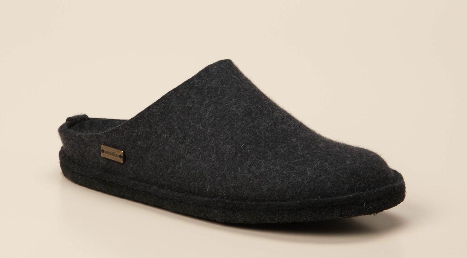 Haflinger Herren Pantolette in dunkelgrau kaufen   Zumnorde Online-Shop 4f74747c3c