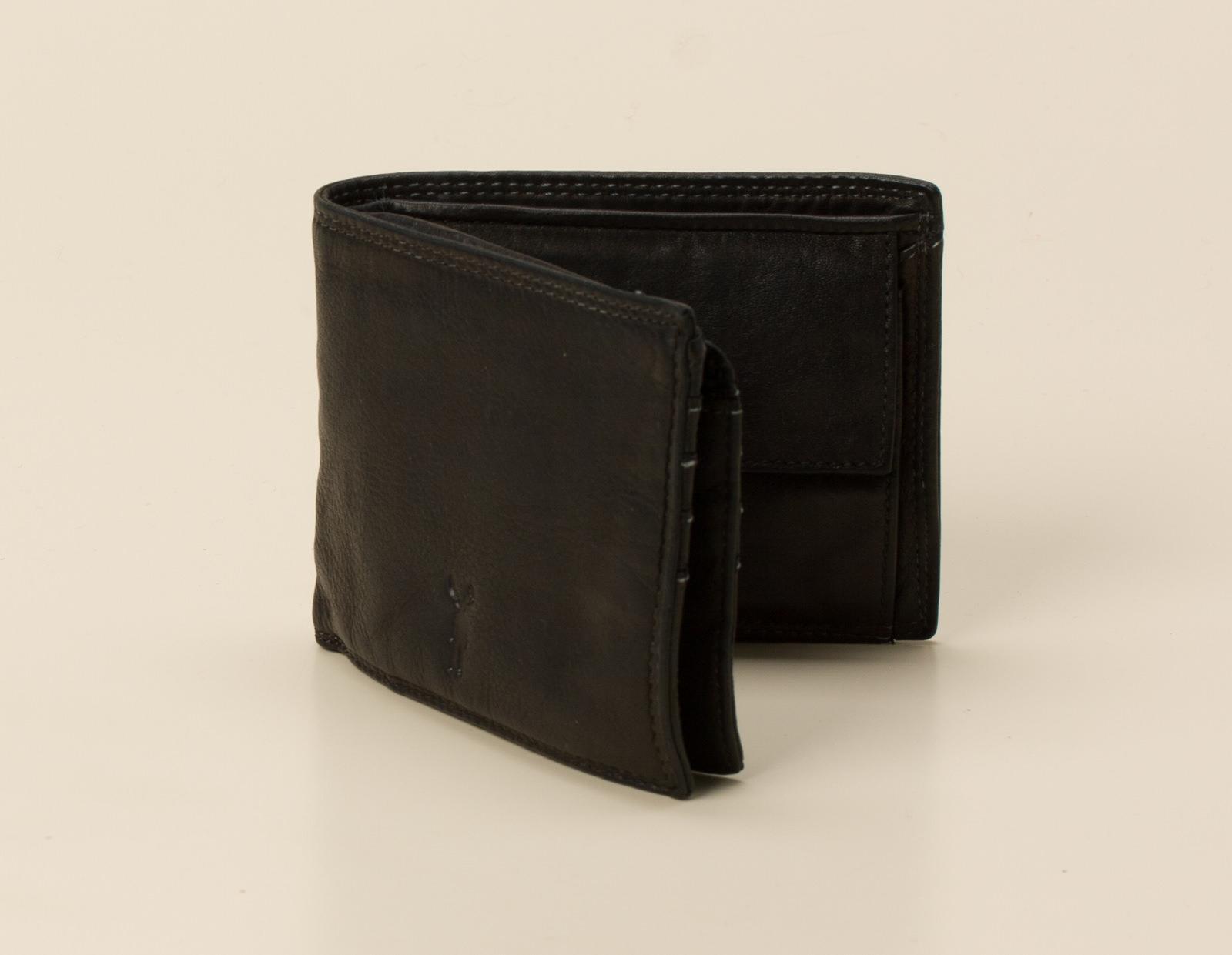 2214e6f5ad1b1 Jack Kinsky Herren-Acces. Portemonnaie in schwarz kaufen