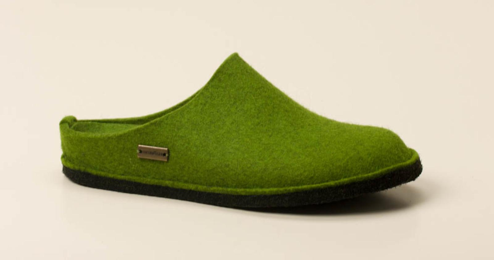 Haflinger Herren Hausschuhe in grün kaufen   Zumnorde Online-Shop 859c7c855c