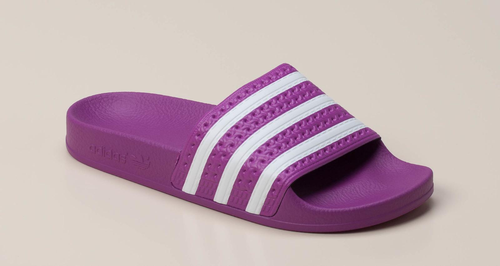 Adidas Damen Badepantolette in viola kaufen   Zumnorde Online-Shop afe0198a9b