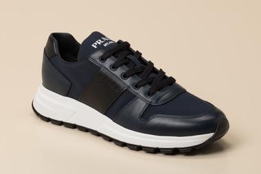 Prada Linea Rossa Herren Sneaker in dunkelblau kaufen   Zumnorde Online Shop