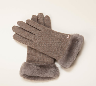 ugg damen acces damen handschuhe in grau kaufen zumnorde online shop. Black Bedroom Furniture Sets. Home Design Ideas