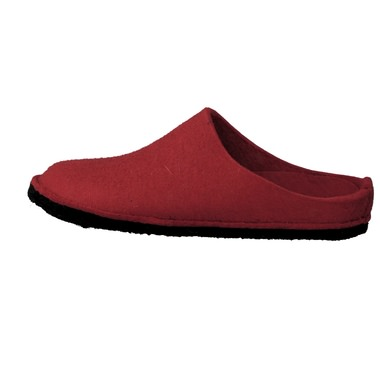 Haflinger Damen Hausschuh in rot kaufen   Zumnorde Online-Shop 7cff1ccf28