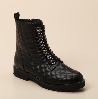 Ralph Harrison Damen Stiefel Engschaft in schwarz kaufen