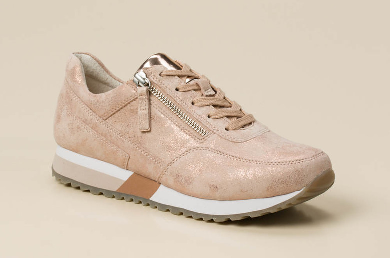 gabor comfort damen sneaker in rosa altrosa kaufen zumnorde online shop. Black Bedroom Furniture Sets. Home Design Ideas