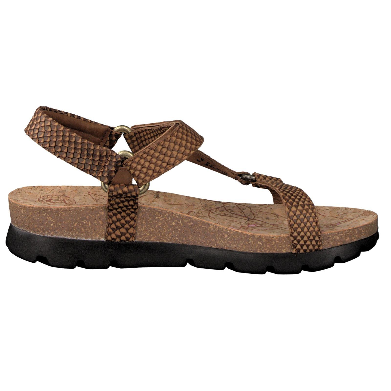 panama jack damen sandale in braun kaufen zumnorde online shop. Black Bedroom Furniture Sets. Home Design Ideas