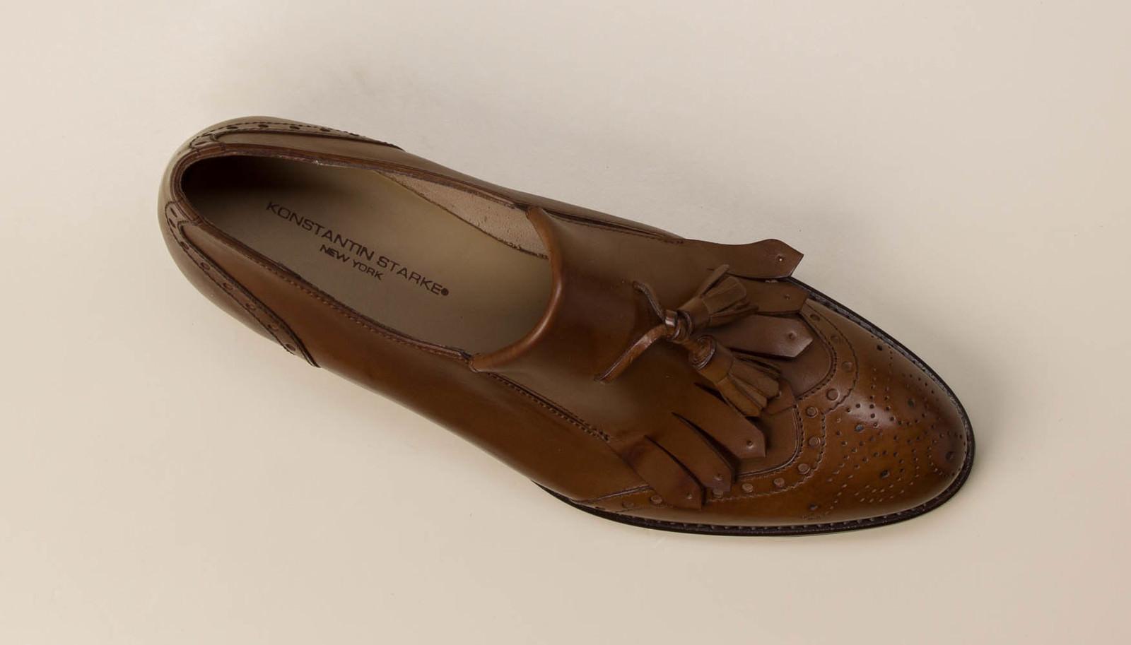 2944a7c9bbff Konstantin Starke Damen Loafer in cognac kaufen   Zumnorde Online-Shop