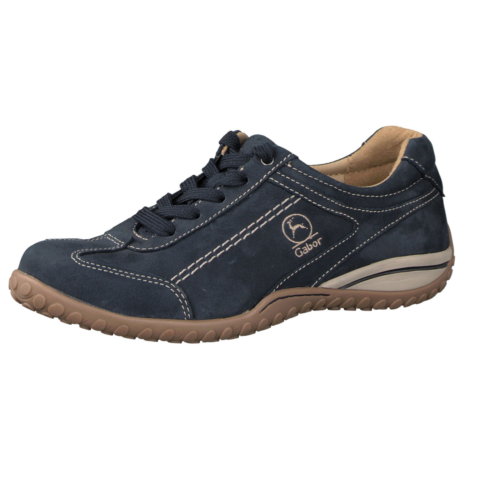 gabor comfort damen sneaker in dunkelblau kaufen zumnorde online shop. Black Bedroom Furniture Sets. Home Design Ideas