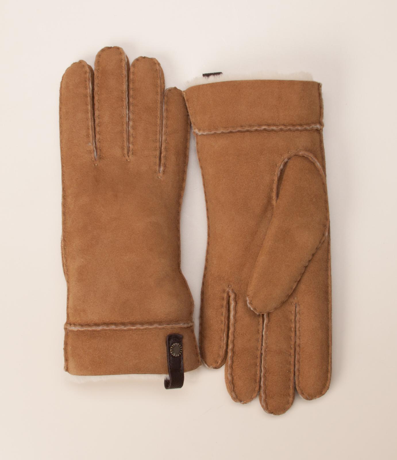 ugg damen acces damen handschuhe in cognac kaufen zumnorde online shop. Black Bedroom Furniture Sets. Home Design Ideas