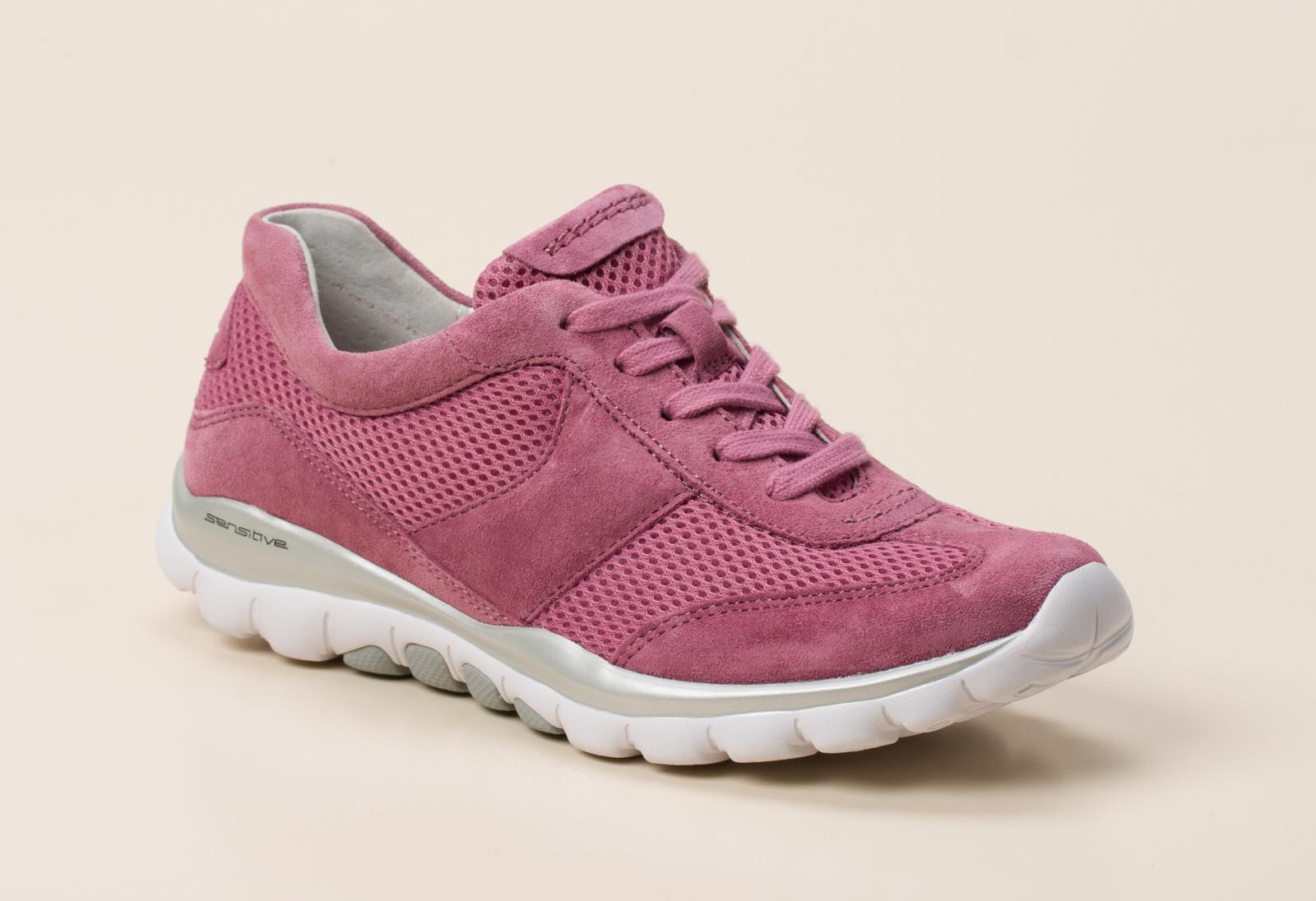 gabor comfort damen sneaker in pink kaufen zumnorde online shop. Black Bedroom Furniture Sets. Home Design Ideas
