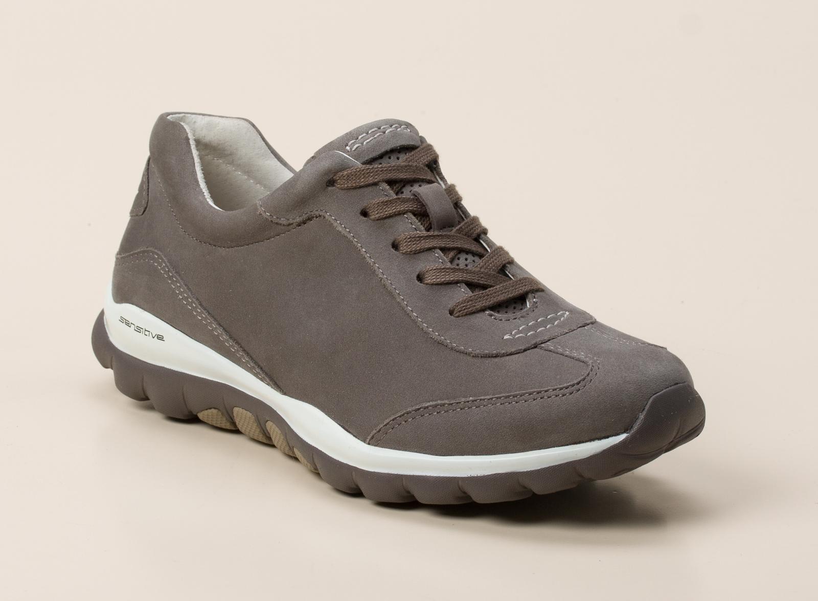 gabor comfort damen sneaker in beige grau kaufen zumnorde online shop. Black Bedroom Furniture Sets. Home Design Ideas