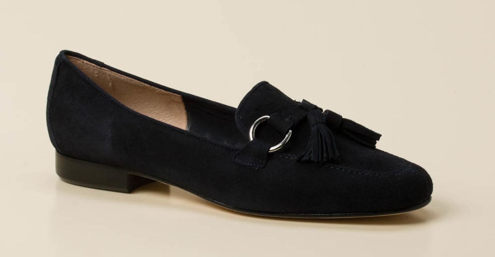 2380917485e1 Mannori Damen Slipper in dunkelblau kaufen   Zumnorde Online-Shop