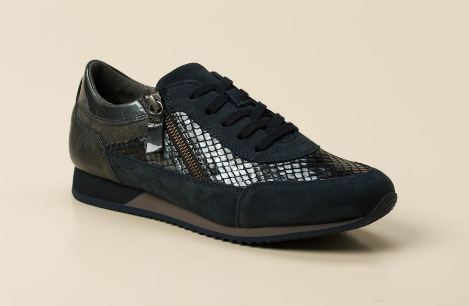 gabor comfort damen sneaker in blau grau kaufen zumnorde online shop. Black Bedroom Furniture Sets. Home Design Ideas