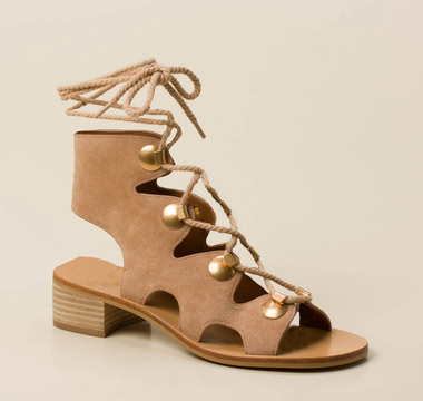 SEE by CHLOÉ Lace-Up Sandalette