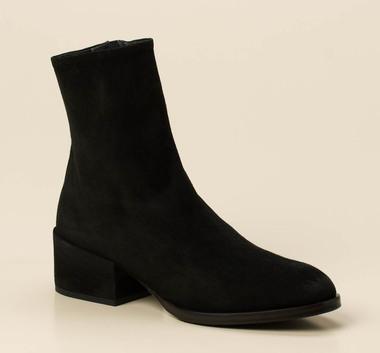 Stiefeletten Schuhe Damen Boots Strass 393o Schwarz 37