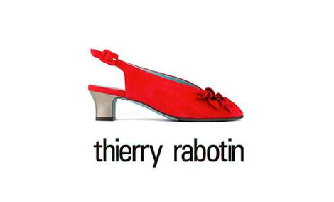 """ae9bc10516 Thierry Rabotin über seine Schuhkreationen: """"Meine Schuhe sollen Füße  umschmeicheln und das Gefühl geben barfuß zu laufen."""" Unverkennbares Markenzeichen  ist ..."""