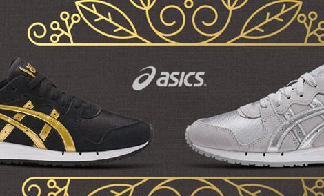 Schuhe für Damen von ASICS in grün im Online Shop von